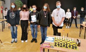 brązowy medal w szachach - powiatowa licealiada w szachach