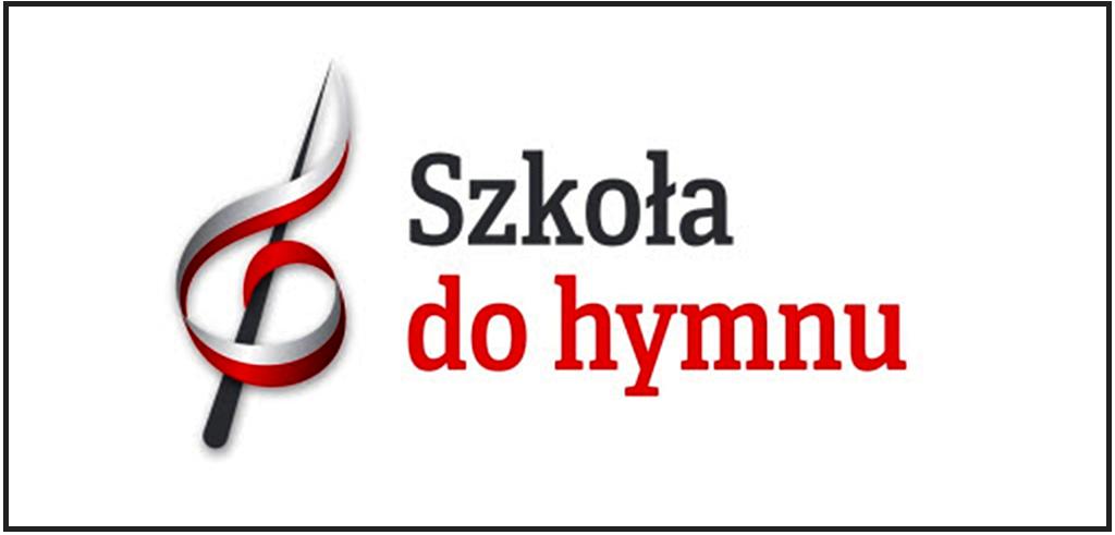 """Logo wydarzenia """"szkoła do hymnu"""""""