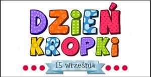 Logotyp Dnia Kropki. Zdjęcie początkowe artykułu