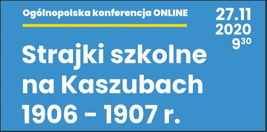 Plakat: Strajki szkolne na Kaszubach 1906-1907