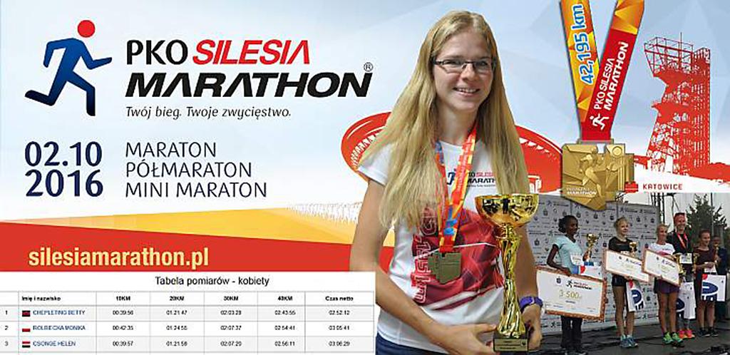 Maraton PKO SIlesia - Katowice 2016