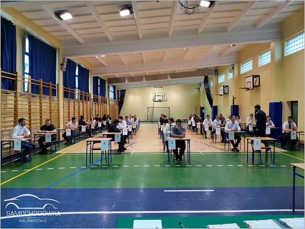 Dzień drugi egzaminu zawodowego - egzamin pisemny