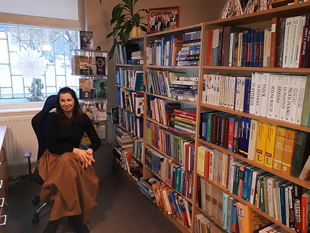 Bibliotekarka - Ewa Lechicka