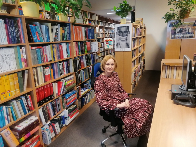 Bibliotekarka - Małgorzata Sil
