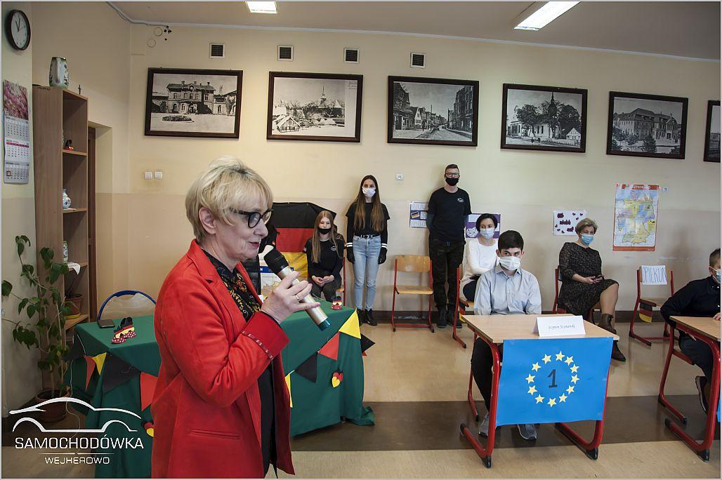 Konkurs Profi in Deutsch. Przemówienie Pani Dyrektor