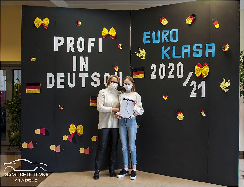 Konkurs Profi in Deutsch. Zwyciężczyni konkursu