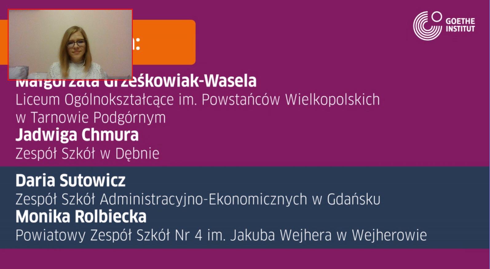 Cyfrowy nauczyciel roku szkolnego 2020/21. Prezentacja Moniki Rolbieckiej