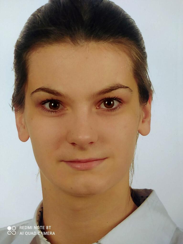 Dominika Szatkowska - mistrz Polski w karate